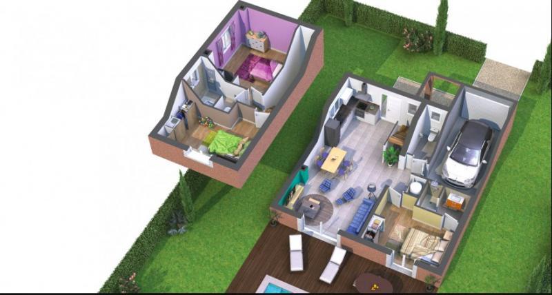 Projet 2 maisons individuelles au coeur des Camoins.